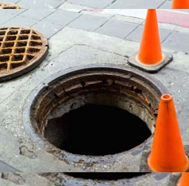 SEWER LINE, MAN HOLE & DRAIN CLEANING